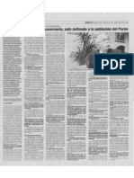 Entrevista al Congresista Carlos Tubino - Diario Impetú de Pucallpa
