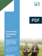 Innovating Pedagogy Report July 2012