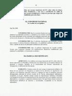 Ley 2-04 Recargo y Tasa Salida