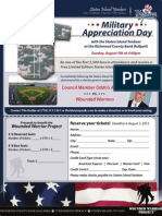 Wounded Warrior Flyer
