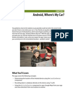 Android App Inventor - Where's My Car Tutorial Ch7