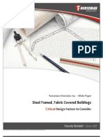 Fabric Covered Buildings - White Paper - Critical Design Factors to Consider