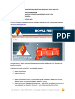 MANUAL DE USUARIO SISTEMA DE GESTIÓN DE CALIDAD ROYAL FIRE LTDA