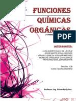 1° Grupo - Funciones Químicas Orgánicas