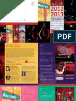 UA TFTV 2012-13 Season Brochure