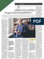 Entrevista Idel Vexler - El Comercio 23-07-12