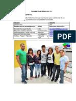 Proyecto Frutas (Formato Colegio)