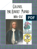 Sir Robert Munro 1684-1746 Colonel of the Black Watch