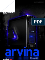 Sentey Arvina GS6400 Negra