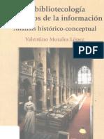 La bibliotecología y estudios de la información análisis histórico conceptual