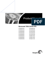 Seagate Barracuda 7200.9 SATA Product Manual