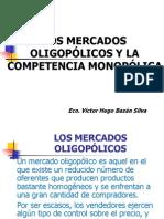 Mercados Oligopolicos y Competencia Monopolica