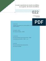 022 Cuidados Com o Paciente Em Morte Encefalica Ou Suspeita de Morte Encefalica