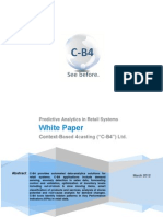 C-b4 White Paper Demand Forecasting Retail April 2011
