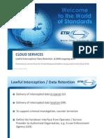 ETSI cloud