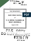 FM 23-6 - US Rifle Caliber 30 M1917 Enfield