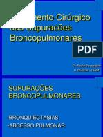 2 - Bronquiectasias e Abscesso Pulmonar