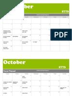 Jewish Learning Program 5773 Calendar 2