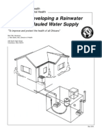 Rainwater Cisterns - Ohio Handbook