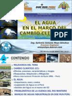 IV CONAEINGEOGMMERA - El agua en el marco del Cambio Climático