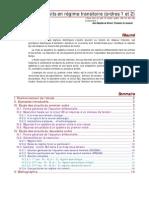 Analyse des circuits en régime transitoire
