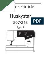 Huskystar 207 215 Manual En