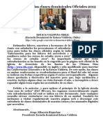 Clases Dominicales Estaca Valdivia 2012