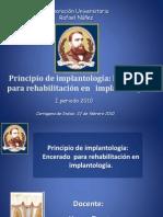 Principio de implantología