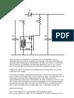 decharge condensateur