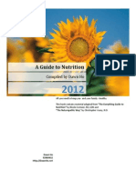 A Guide to Nutrition Compiled by Dawn Ho