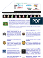 Tuesday - July 24, 2012 - ForeclosureGate Gazette