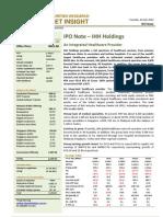 BIMBSec - IHH Healthcare - 20120724 - IPO Note