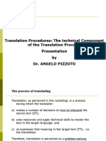 Translation Techniques Presentation