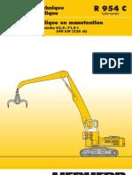 Descriptif Technique Pelle Hydraulique Poids en Ordre de Marche