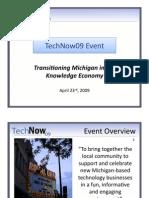 Final Tech Now Overview