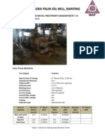 Report for Jugra Palm Oil Mill