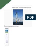 Aerodyanmic of Wind Turbine