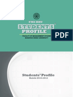 FMS BHU Student Profile