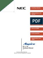 NEC Aspire Hardware Manual
