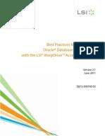 WarpDrive Oracle Best Practices