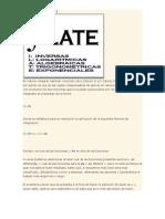 Metodo de ILATE (MATEMATICAS)