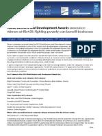 WBDA Press Release Final 2012 Winners Announcement