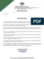 Mitch Fifield Media Release