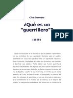 Que Es Un Guerrillero. Che Guevara - Accion Directa Textos