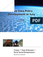 Open Data Policy Development in Asia