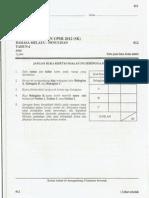 Percubaan Upsr 2012 - Pahang - BM Penulisan