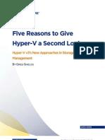 5 Reasons for Hyper v 3