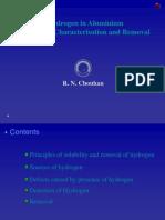 Hydrogen in Alumimium