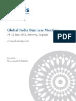 Global india summit 2012 BELGIUM