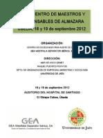 VI Encuentro de Maestros y Responsables de Almazara GEA WS